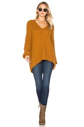 Free People All Mine Sweater Yellow