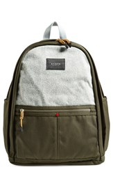 State Bags Men's 'Nevins' Backpack Green Olive
