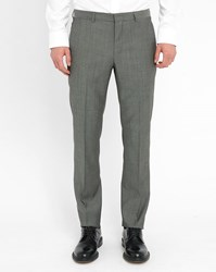 Hugo Hugo Boss Grey Wool Dress Trousers