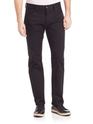 Ralph Lauren Purple Label Ascot Straight Fit Jeans Black