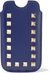 Valentino Rockstud Iphone Leather Case Royal Blue