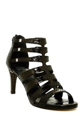 Stuart Weitzman Outbound High Leather Heel Sandal Wide Width Available Black