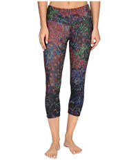 Onzie Night Bright Capri Leggings Night Bright Women's Casual Pants Black