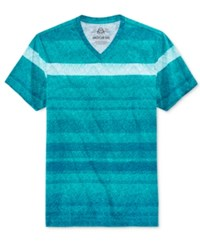 American Rag Men's Day Stripe T Shirt Only At Macy's Crater Lake