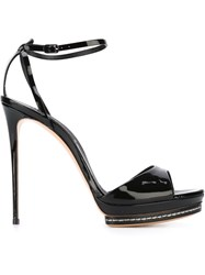 Casadei Stiletto Sandals Black