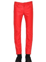 Cnc Costume National 17Cm Skinny Nappa Leather Pants