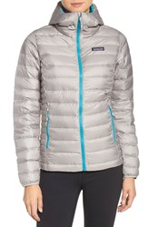 Patagonia Women's Quilted Water Resistant Down Coat Drifter Grey