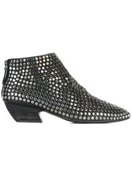 Marsell Studded Boots Black