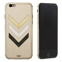 Toast Real Wood Iphone 6 Inlay Cover Ash