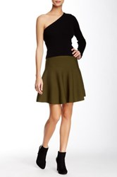 Romeo And Juliet Couture Ponte Skater Skirt Green