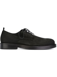 Ann Demeulemeester Classic Lace Up Shoes Black