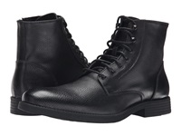 Robert Wayne Donovan Textured Black Men's Lace Up Boots