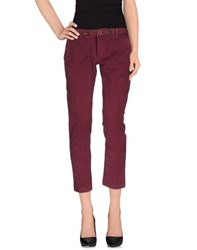 Htc Trousers Casual Trousers Women Garnet