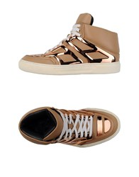 Alejandro Ingelmo Footwear High Tops And Trainers Women Camel
