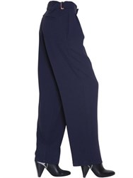 See By Chloe Pleated Techno Crepe Pants