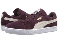 Puma Suede Classic Winetasting White Women's Shoes Brown