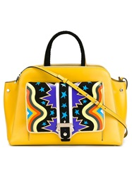 Paula Cademartori 'Rita' Tote Yellow And Orange