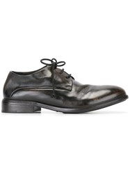 Marsell Distressed Lace Up Shoes Brown