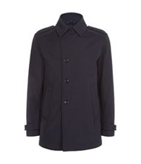 Boss Trench Jacket Navy