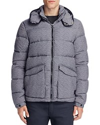 Scotch And Soda Quilted Down Jacket Graphite