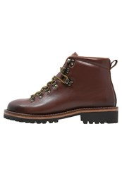 Hackett London Laceup Boots Brown