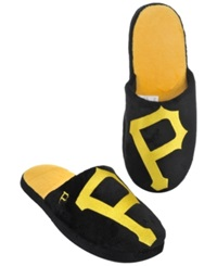 Forever Collectibles Men's Pittsburgh Pirates Big Logo Slippers