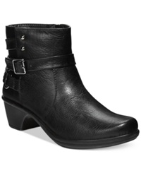Easy Street Shoes Easy Street Carson Booties Women's Shoes Black