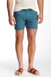 Parke And Ronen Printed Holler Short Blue