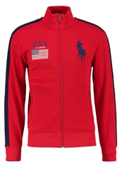 Polo Ralph Lauren Tracksuit Top Red