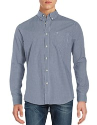 Dockers Checked Sportshirt Blue