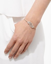 Hinged Diamond Leaf Bracelet Anita Ko Pink