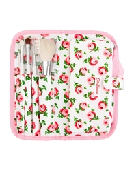Cath Kidston Quilted Mini Make Up Brush Set Buttonrose