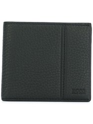 Hugo Boss Stitch Detail Wallet Black