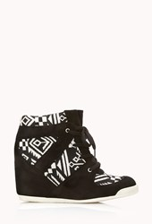 Forever 21 Brave Voyager Wedge Sneakers