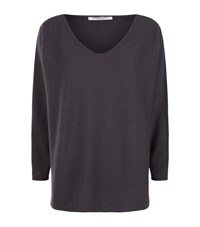 Lamberto Losani Roll Hem Sweater Female Dark Grey