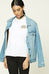 Forever 21 California Dreamin Muscle Tee