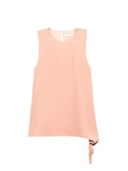 J.W.Anderson Crepe Side Knot Top