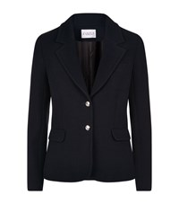 Claudie Pierlot Vison Woven Jacket Female Navy