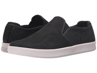Mark Nason Knoxville Black Nubuck White Men's Slip On Shoes