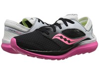 Saucony Kineta Relay White Black Pink Women's Running Shoes