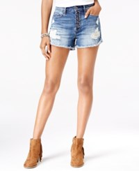 American Rag Ripped Little Lake Wash Denim Shorts Only At Macy's Lttle Lake Wash