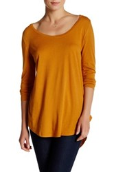 Abound Long Sleeve Basic Tee Orange