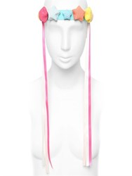 Francesco Ballestrazzi Ribbon Stars Silk Headband