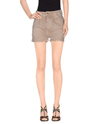 Cycle Denim Denim Shorts Women Khaki