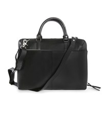 Sandqvist Black Dustin Leather Satchel