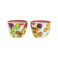 Missoni Home Flowers Small Fruit Bowl Set Of 2