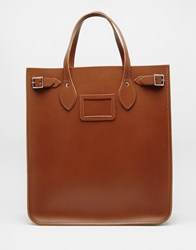 The Cambridge Satchel Company Leather North South Tote Bag Vintage