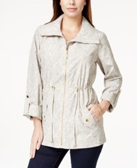 Jm Collection Petite Printed Anorak Jacket Only At Macy's