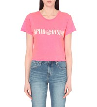 Wildfox Couture Aphrodisiac Jersey T Shirt Party Girl
