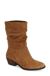 Women's Jessica Simpson 'Gilford' Slouch Bootie Dakota Tan Suede